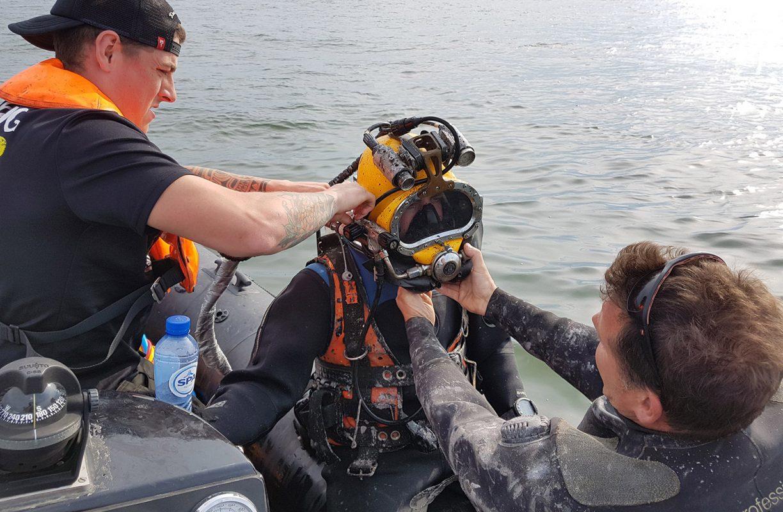 Rib4fun - Offshore dienstverlening - duikwerkzaamheden